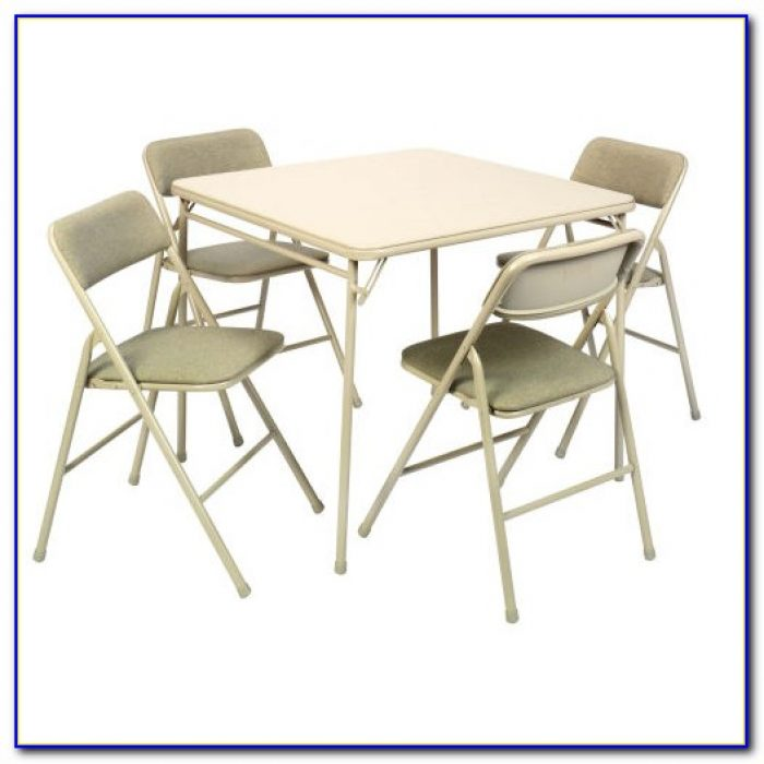 Folding Table And Chairs Set Costco
