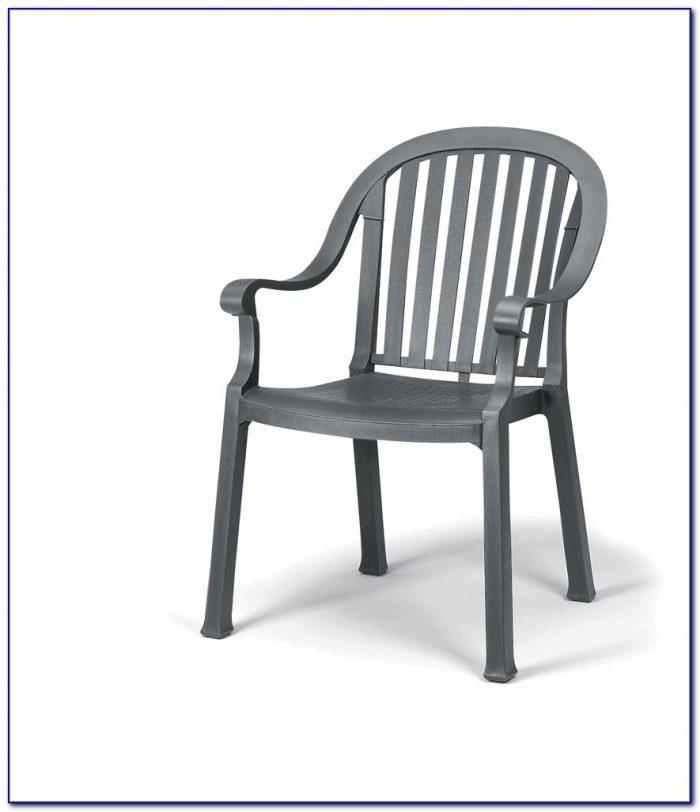 Garden Metal Dining Chairs
