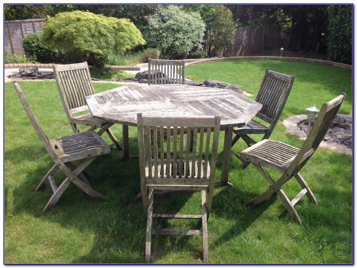 Garden Table And Chairs Wooden