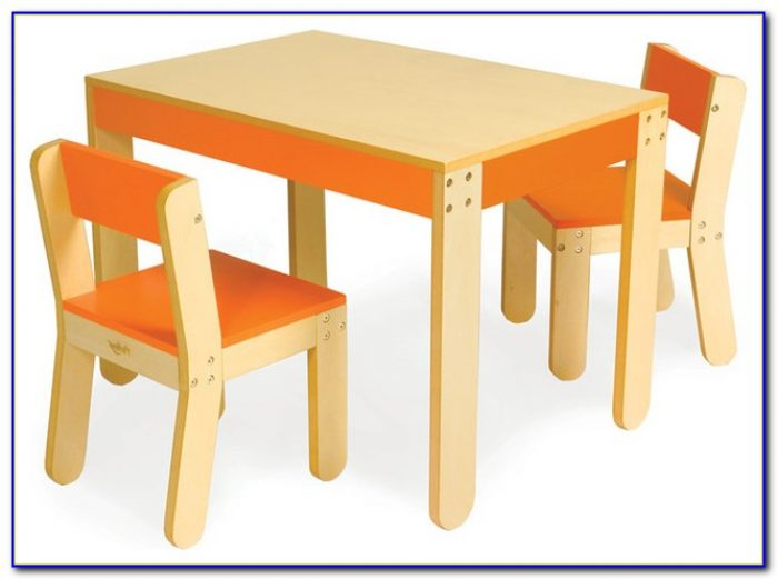Kid Table And Chair Set Wood