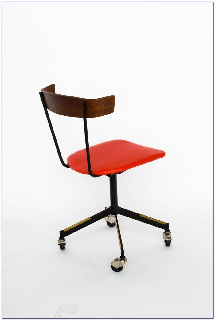 Mid Century Modern Swivel Desk Chair