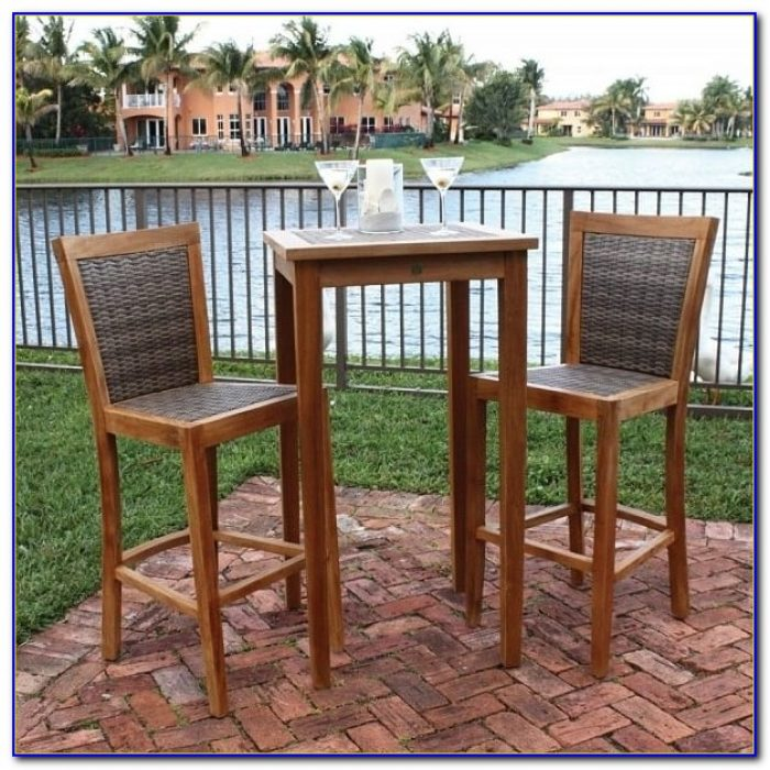 Outdoor Bar Table And Chairs Uk