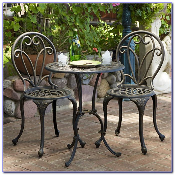 Outdoor Bistro Table And Chair Plans