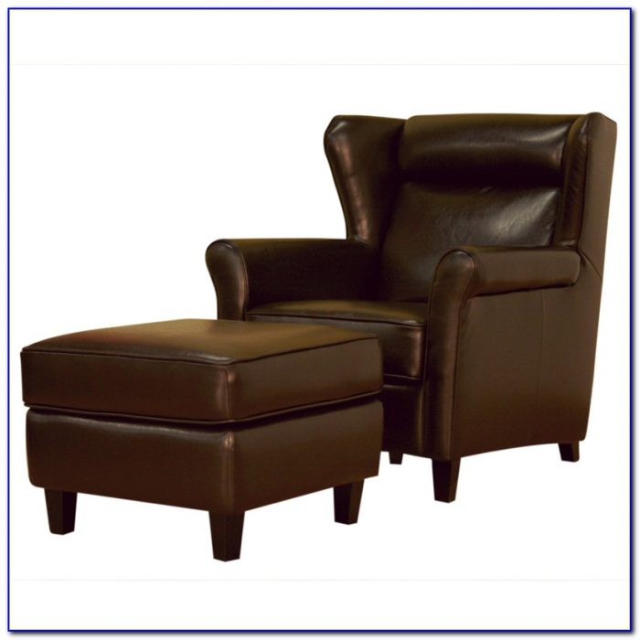 Outdoor Club Chair With Ottoman