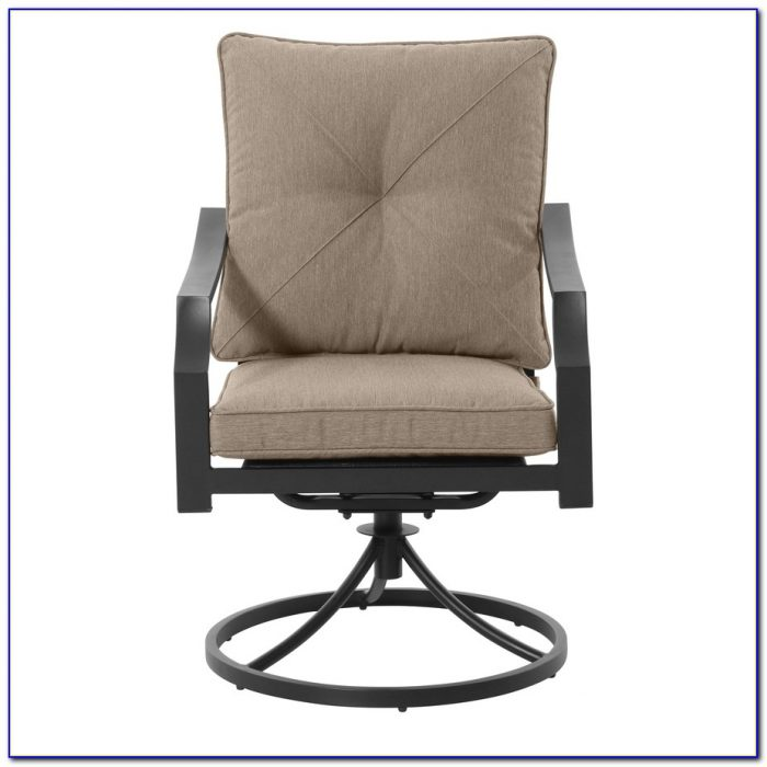 Outdoor Swivel Rocker Dining Chair