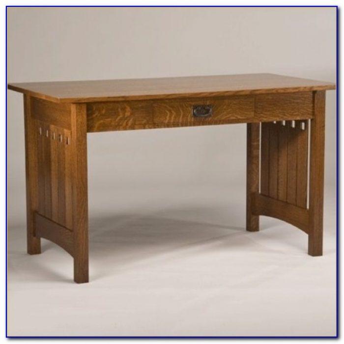 Quarter Sawn Oak Secretary Desk