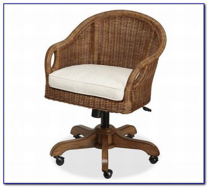 Rattan Swivel Desk Chair Uk