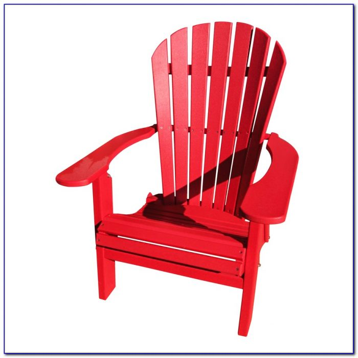 Red Adirondack Chairs Plastic