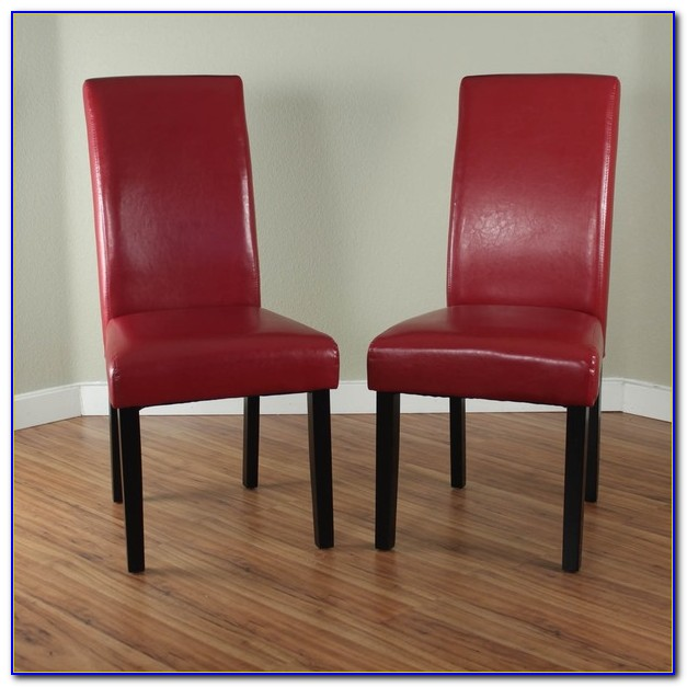 Red Dining Room Chair Cushions