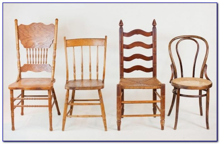Retro Wooden Dining Chairs