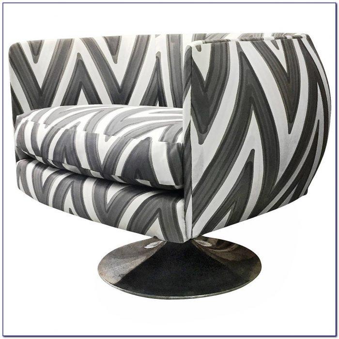 Round Back Swivel Desk Chair