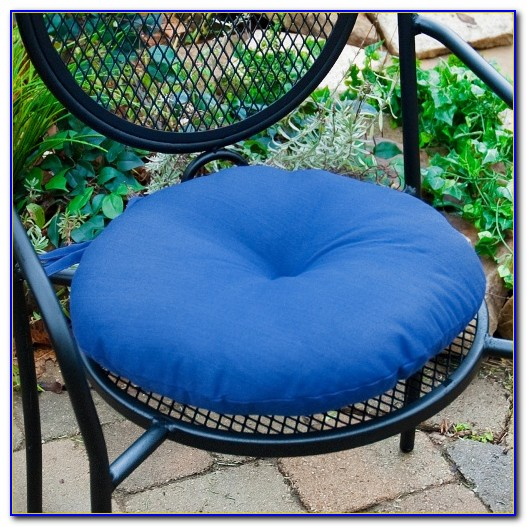 Round Bistro Chair Cushions Outdoor