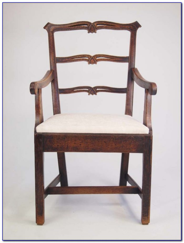 Rustic Ladder Back Chairs