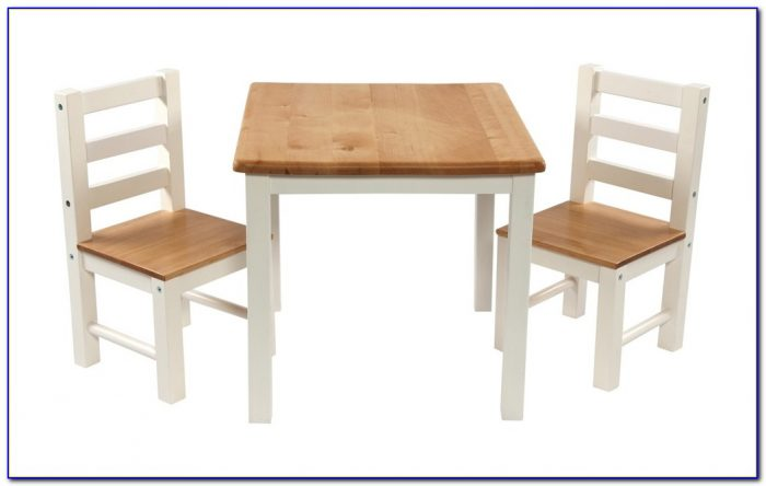 Toddler Wooden Table And Chairs Set