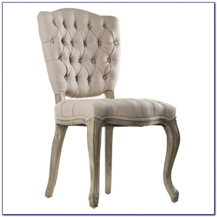 Tufted Nailhead Dining Room Chairs