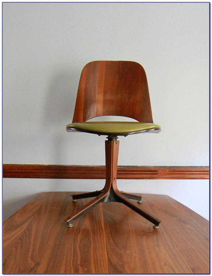 Vintage Mid Century Modern Desk Chair