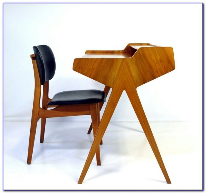 Vintage Mid Century Modern Office Chair