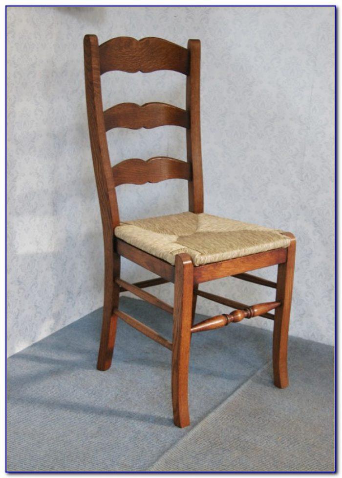 Vintage Shaker Ladder Back Chairs