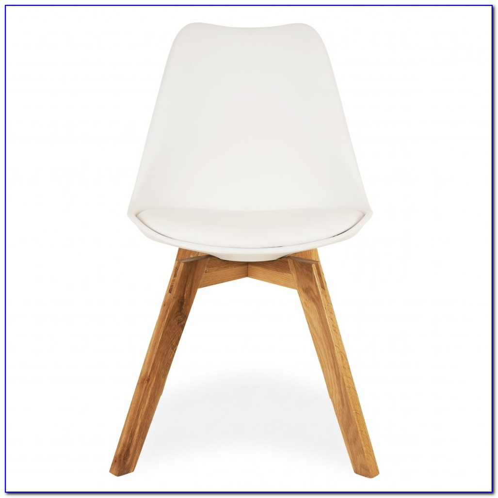 White Chair Wooden Legs Ikea