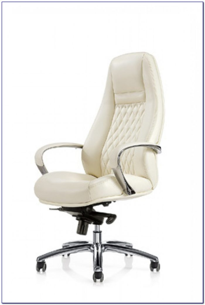 White High Back Desk Chair