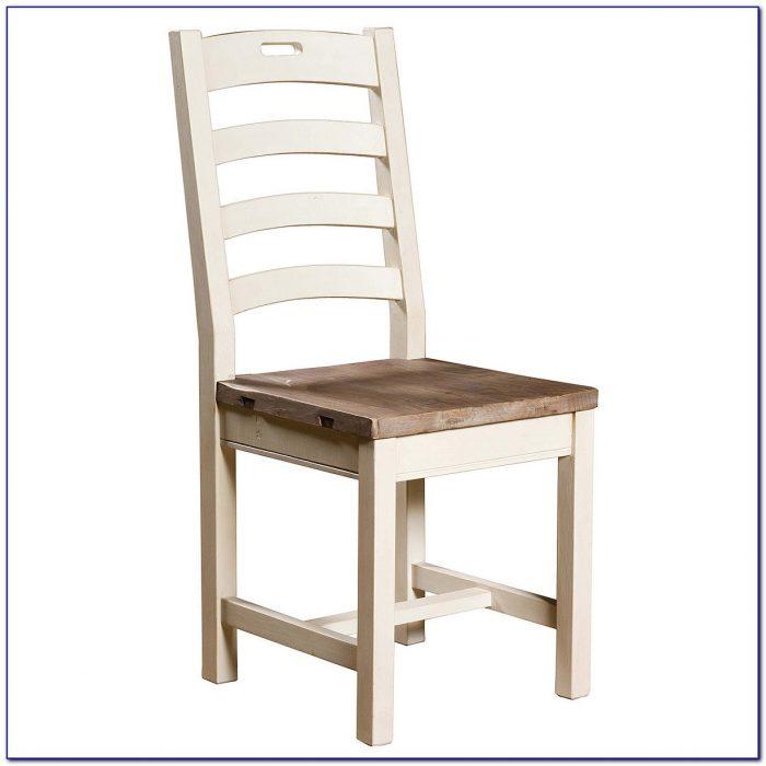 White Ladder Back Kitchen Chairs