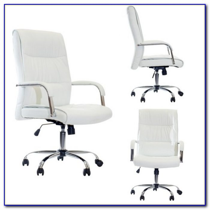 White Leather Office Chair Australia