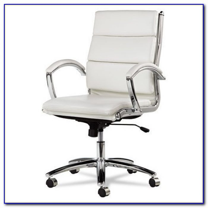 White Leather Office Chair Canada