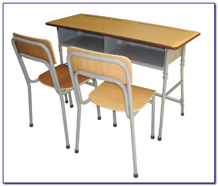 Adjustable Student Desk And Chair