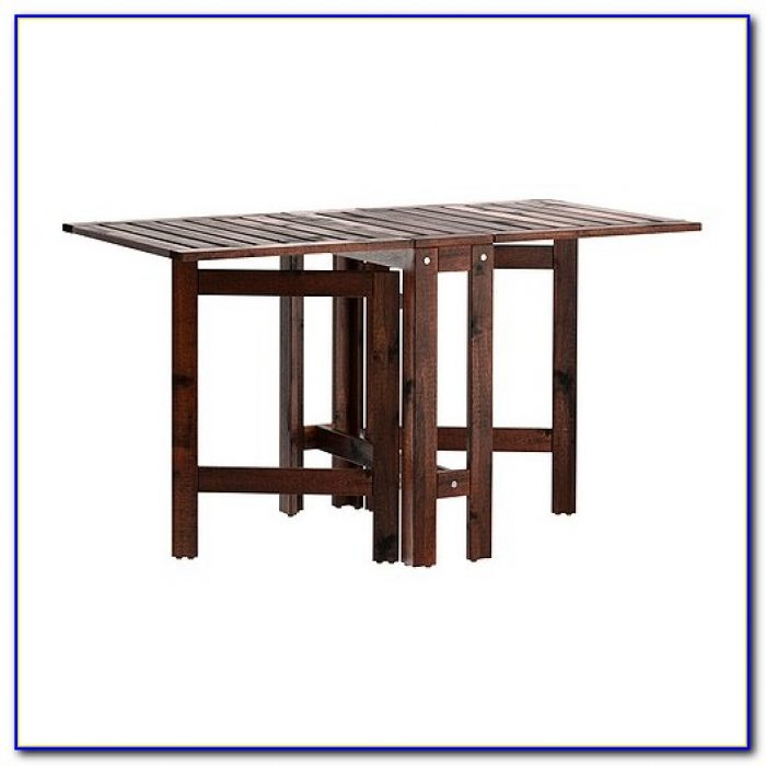 Antique Drop Leaf Table With Chair Storage