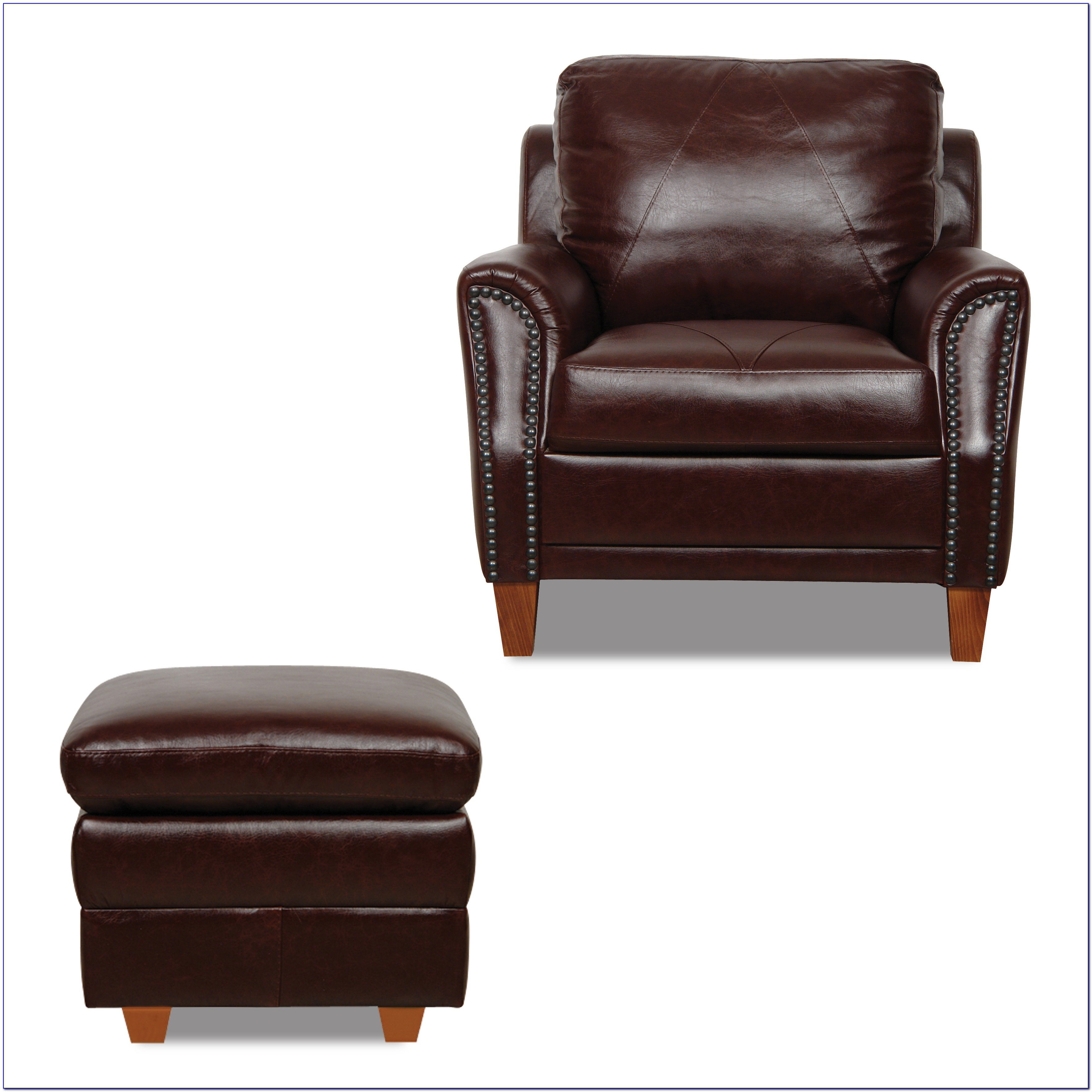 Best Leather Chairs And Ottomans