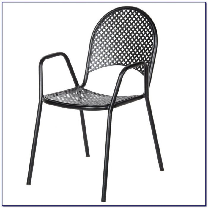 Black Metal Outside Chairs
