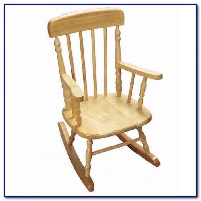 Childrens Wooden Rocking Chair Plans