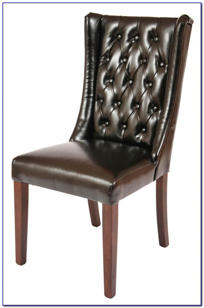Chrome And Black Leather Dining Room Chairs