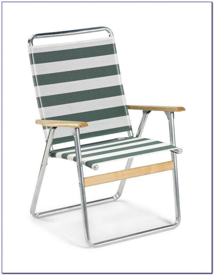 Coleman High Back Folding Chair