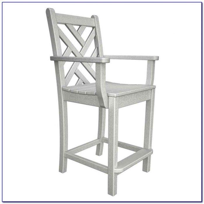 Counter Height Barstool With Arms
