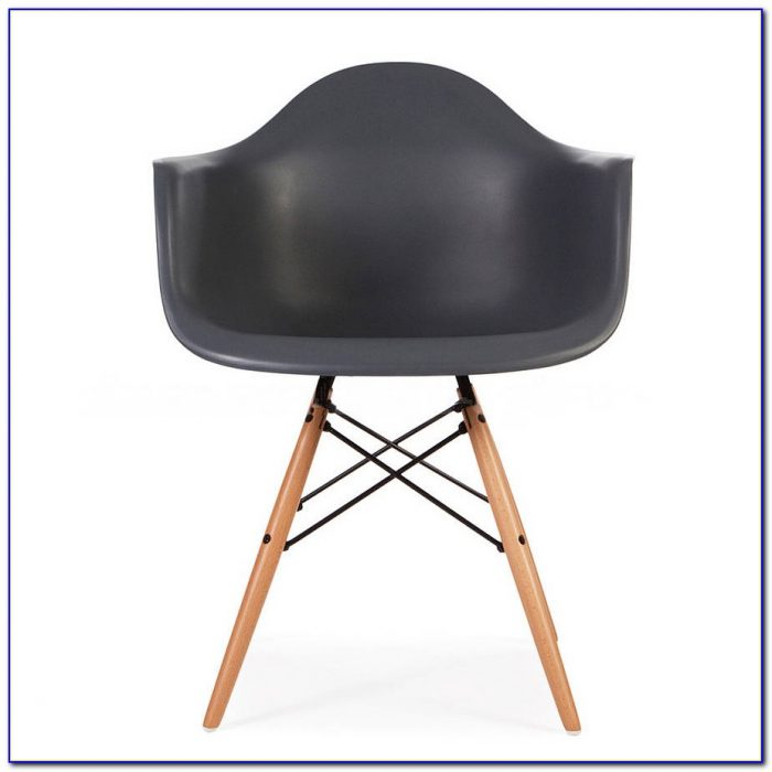 Eames Style Dining Chair Mustard