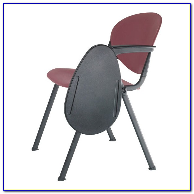 Folding Chair With Tray Table