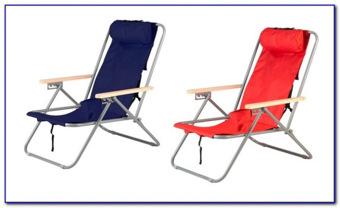 High Back Collapsible Chair