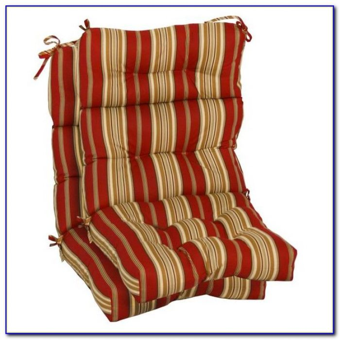 High Back Seat Cushions Outdoor Furniture