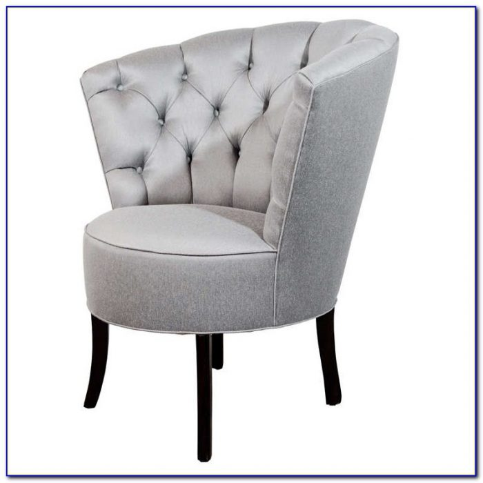 High Back Tufted Accent Chair
