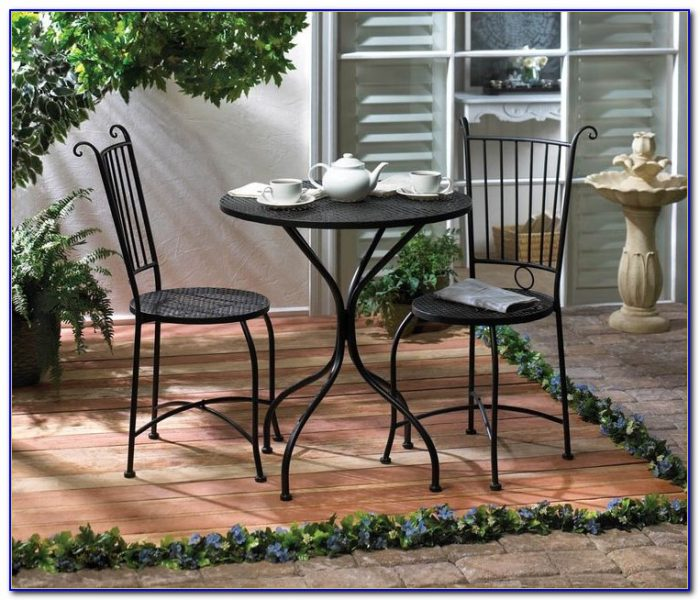 Metal Folding Patio Table And Chairs