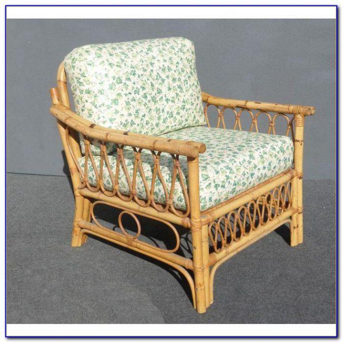 Mid Century Rattan Dining Chair