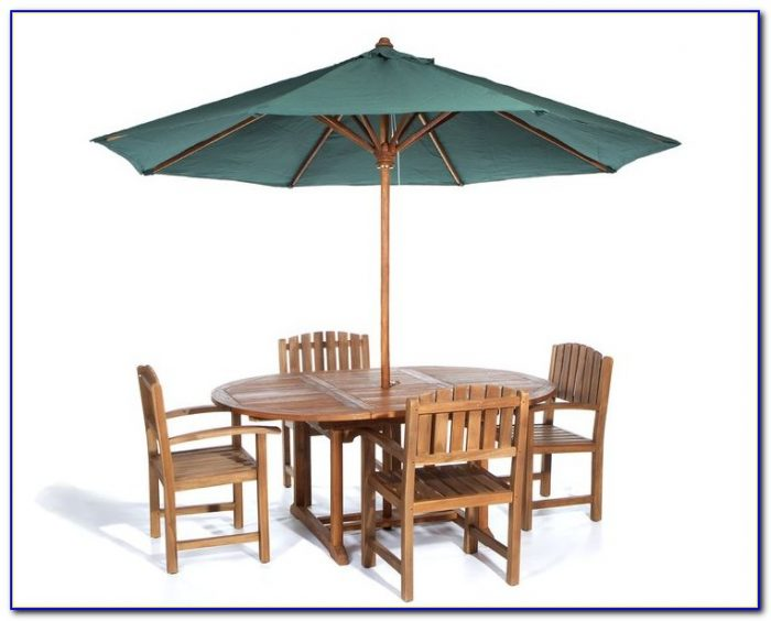 Patio Table And Chairs Cover With Umbrella Hole