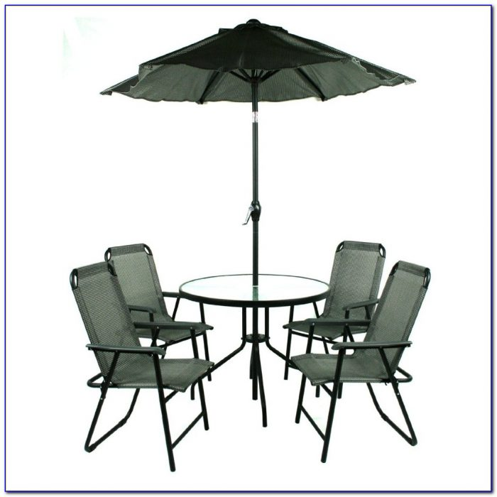 Patio Table And Chairs With Umbrella Hole