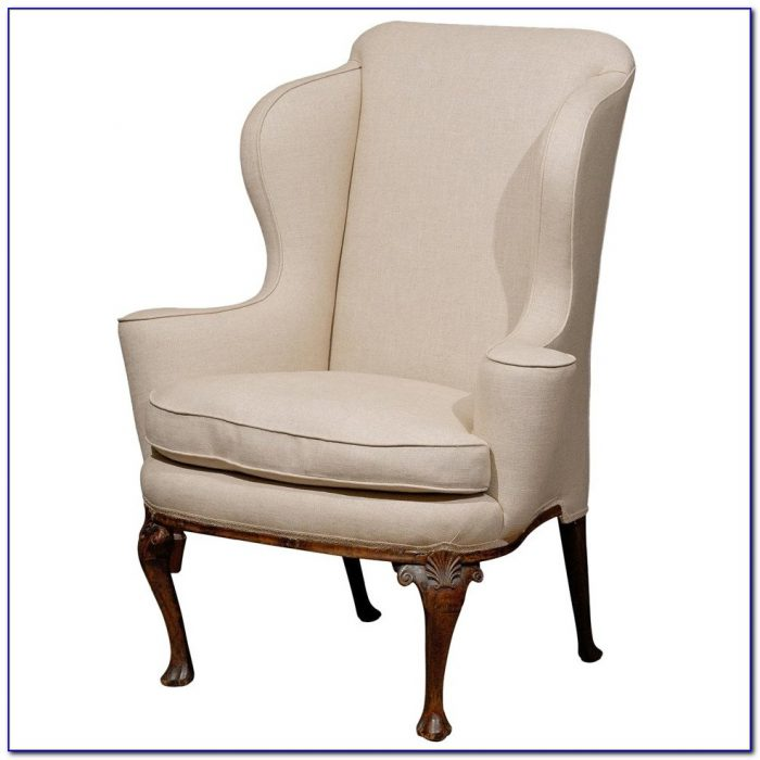 Queen Anne Wing Chair Cover