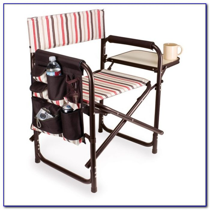 Rocky Folding Chair With Side Table
