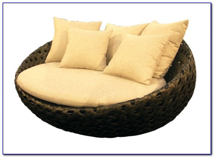 Round Lounge Chair Outdoor