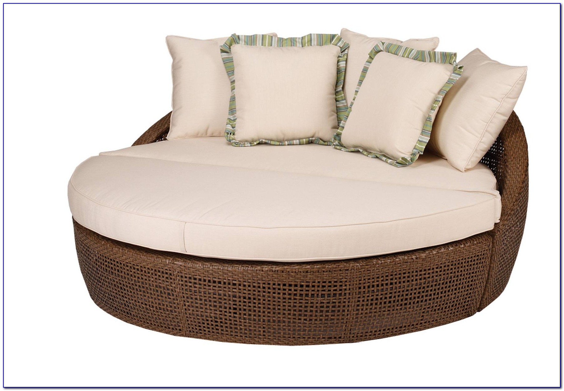 Round Lounge Chair Outdoor Cushions