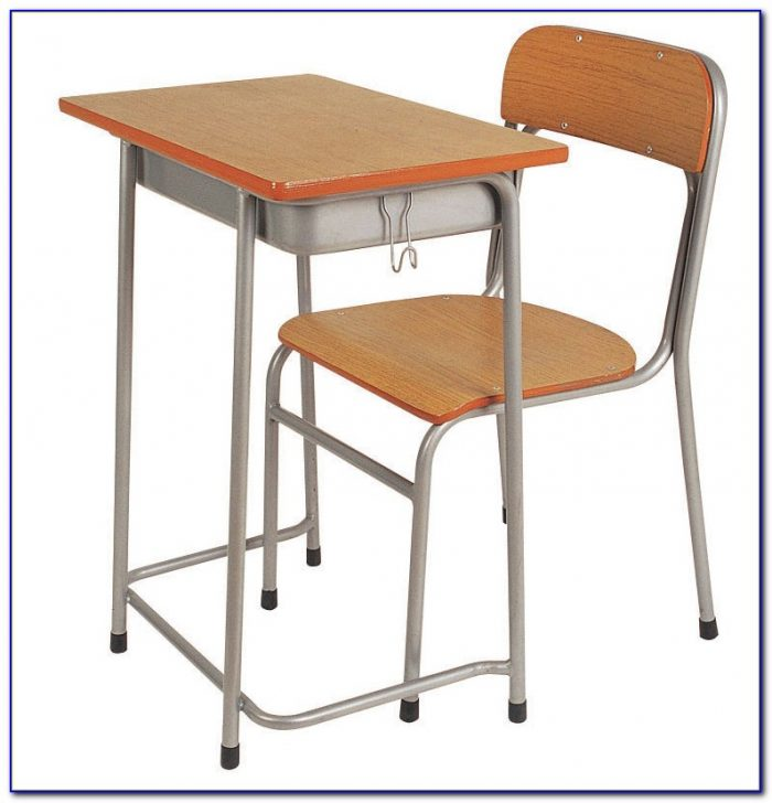 Student Desk Chair And Lamp Bundle