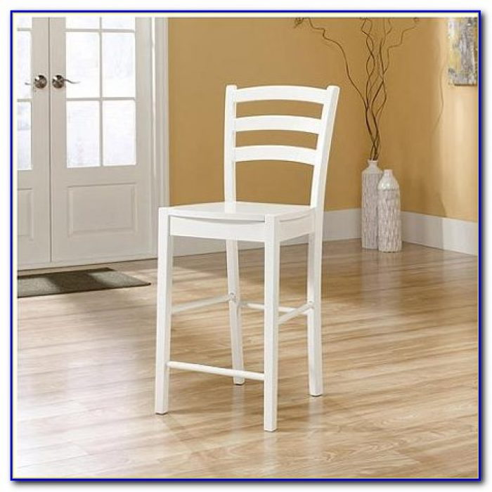 White Counter High Chairs